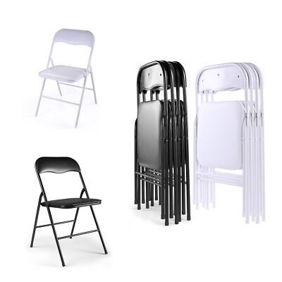 4/5/6/10 PACK Plastic Folding Chairs Commercial Wedding Party Event Beach Chair
