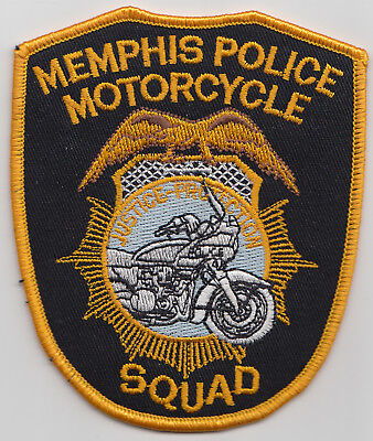 Memphis Police Motorcycle Squad patch. See photo.