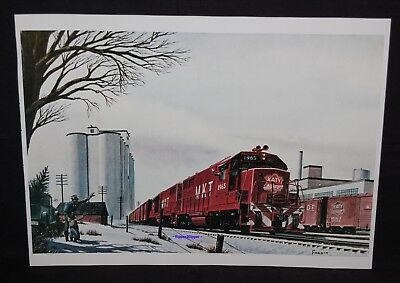 ( MKT ) ~ New Texas Special ~ ( Father and Son Christmas Scene in 1965 ) ~ GP-40