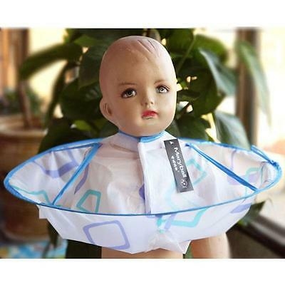 Waterproof Hair Cutting Cape Gown Salon Hairdresser Barber Apron For Kids SO