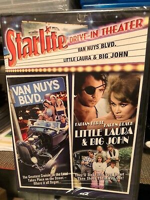 Van Nuys Blvd. / Little Laura & Big John (DVD) Karen Black, Cynthia Woods, NEW!
