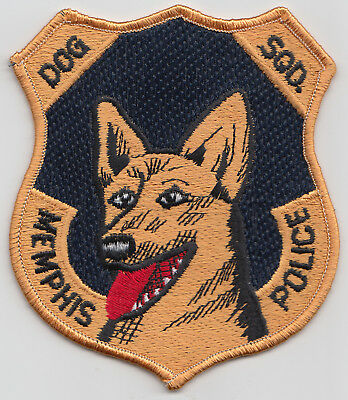 Memphis,Tenn. Police Dog SQD patch. See photo.