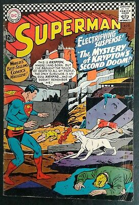 Superman #189 DC Comics 12 cent cover Silver Age C. Swan Cover GD/VG 3.0 20% OFF