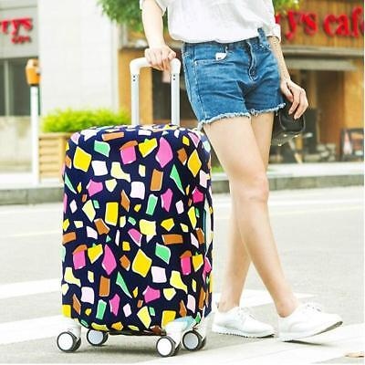 Travel Luggage Cover Trolley Suitcase Protector Elastic Dustproof Bag 18-28'' SO