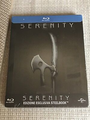 Serenity Limited Edition Italian SteelBook (Import Blu-ray) New Sealed