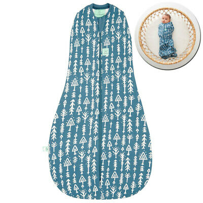 ErgoPouch Organic/Cotton 1.0 TOG Cocoon Swaddle Bag 3-12m Baby/Infant Arrows BL