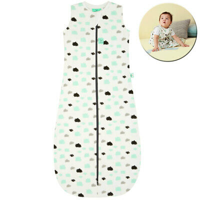 Ergo Pouch Organic/Cotton Jersey Sleeping Bag 8-24m 1.0 TOG Baby/Infant Clouds