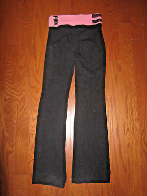 1006b90b04714 PINK BY VICTORIA'S Secret Women's Size XS Fold Over Leggings Yoga ...