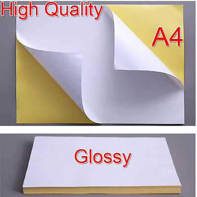 High Quality A4 White Glossy Self-adhesive Sticker Printing Paper Address Label