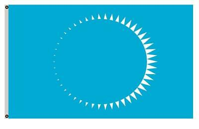 Solar Eclipse Flag for The Earth Earth Depicting a Solar Eclipse Banner 3x5ft