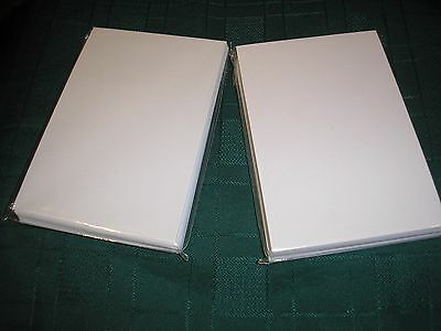 "2 X Genuine Canon 80 4""x6"" glossy photo paper"