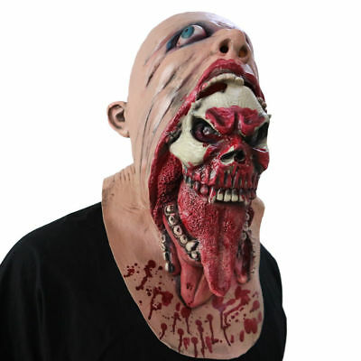 Halloween Maske Horror Masken Cosplay Sturmhaube Karneval Fasching Party Kostüm