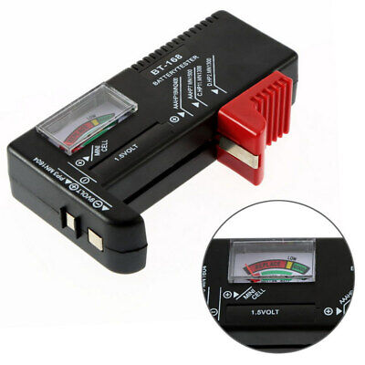 Universale AA / AAA / C / D / 9V / 1.5V Cell Button Battery del tester Meter