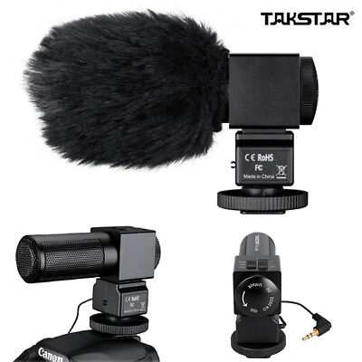 TAKSTAR SGC-698 Interview Recording Mic Microphone For DSLR Camera DV Camcorder