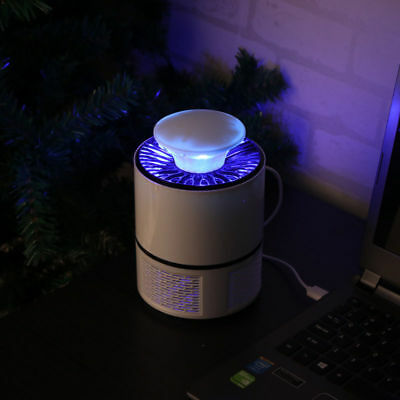 Electronic Mosquito Killer Bug Zapper Trap LED Light USB Powered Insect Catcher