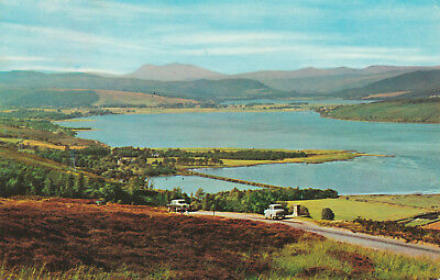 Dornoch Firth & Kyle Sutherland Picture Scotland c.1970 Printed Posted Postcard