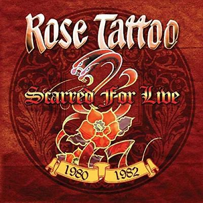 Rose Tattoo-Scarred For Live 1980-1982 (Box) Cd Neuf
