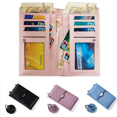 AU Womens Wallet Purse Bag Leather Coin Cell Phone Bags Mini Cross-body Shoulder