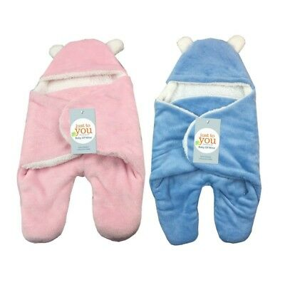 Newborn Infant Baby Boy Girl Swaddle Soft Sleeping Bag Winter Warm Wrap Blanket