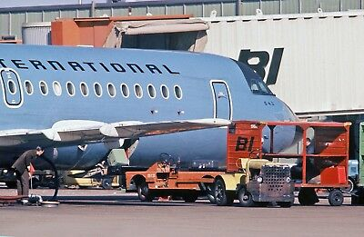 "Braniff Airways BAC 111 ((8.5""x11"")) Print"