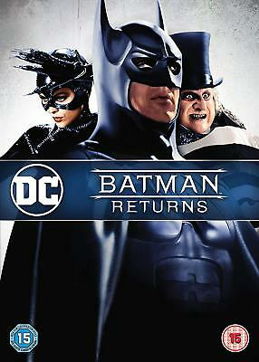 BATMAN RETURNS DC Collection 2018 New Artwork DVD in Inglese Nuovo