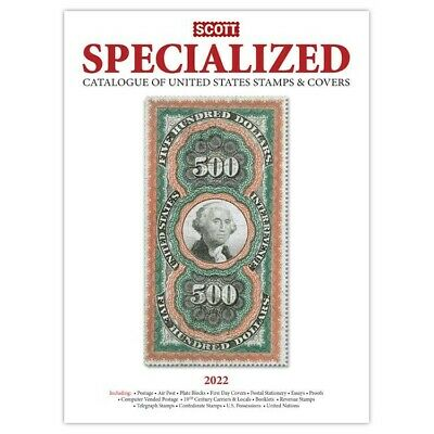 New 2020 Scott Specialized Catalog US Postage Stamp & Covers Free Shipping Deal