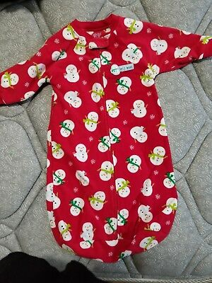 Infant Christmas Pjs Size 0-9 months
