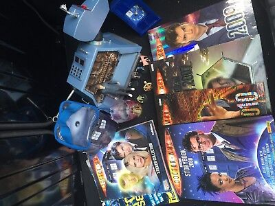 Joblot Doctor Who Merchandise Including K9 Remote Control Dog, Annuals & Other T