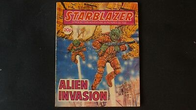 Starblazer  Comic. Space Fiction Adventure in Pictures No. 122