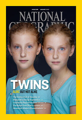 National Geographic Magazine NEW January 2012 - TWINS