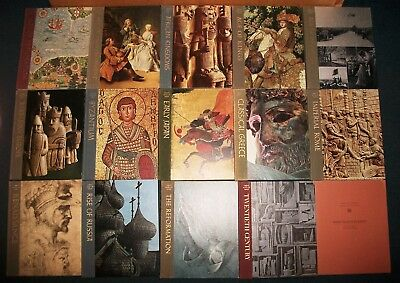 Time-Life Great Ages Man Byzantium Russia Renaissance Rome Europe 14 lot HCDJ VG