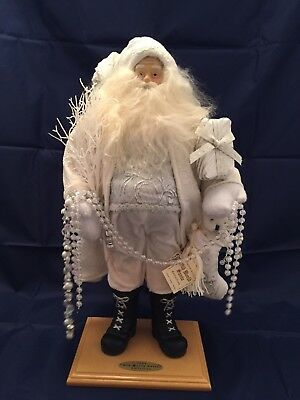Limited Edition Old World Santa 2004 Collection White Target Corp.