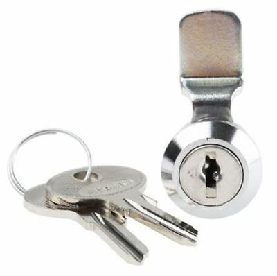 Panel to Tongue Depth 20mm Die-Cast Zinc Alloy Zinc Alloy Cabinet Lock, Key to u
