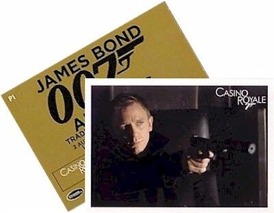 "James Bond Archives 2014 - P1 Promo Card ""Casino Royale"" - General Release"