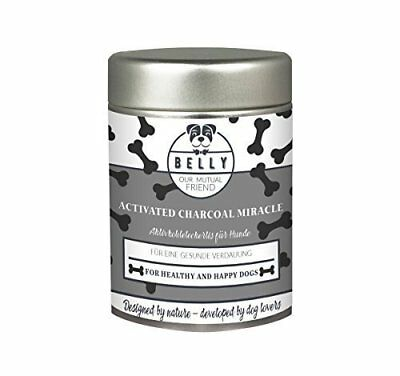 Polvere attiva di carbonio per cani BELLY ACTIVATED CHARCOAL