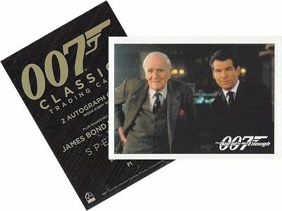 """James Bond Classics 2016 - P1 Promo Card - """"The World Is Not Enough"""""""