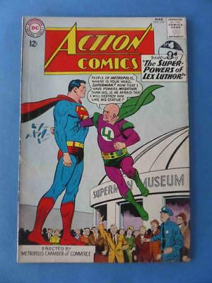 Action 298 1963 Super Powers Of Lex Luthor! Supergirl! Fn