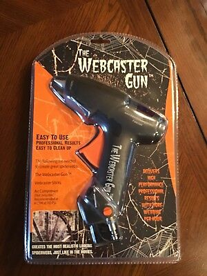 The Webcaster Gun Halloween Spiderweb Gun Shooter Kit