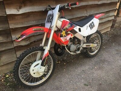 1999 Honda CR125 motocross bike