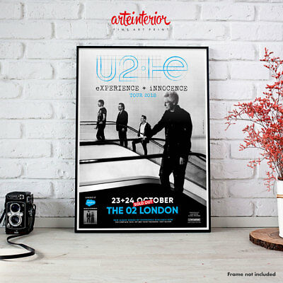 U2 Experience + Innocence Tour 2018 | The 02 London - High Resolution Poster