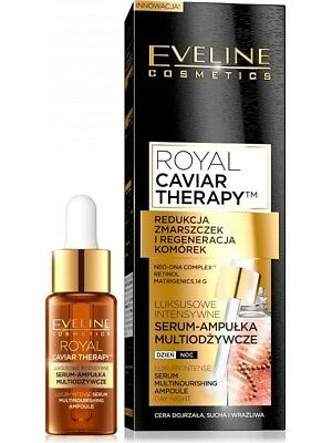 Eveline Royal Caviar Therapy Face serum-Treatment Day &Night/ Intensive renewal