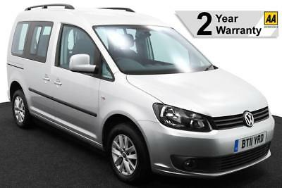 2011(11) VOLKSWAGEN CADDY 1.6 TDi LIFE SIRUS UPFRONT AUTO WHEELCHAIR ACCESSIBLE