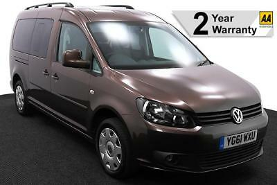 2012(61) VOLKSWAGEN CADDY 1.6 TDi MAXI LIFE DSG AUTO WHEELCHAIR ACCESSIBLE