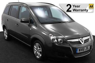2012(61) Vauxhall Zafira 1.8 Exclusiv Low Floor Wheelchair Accessible Vehicle