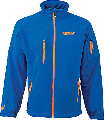 Fly Racing Men's Win-D Blue Breathable Windproof Casual Jacket