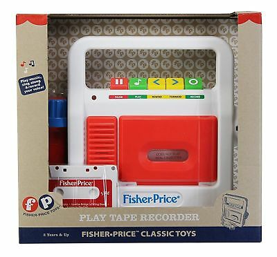 Tape Recorder - Toddler Toy by Fisher Price (2178)
