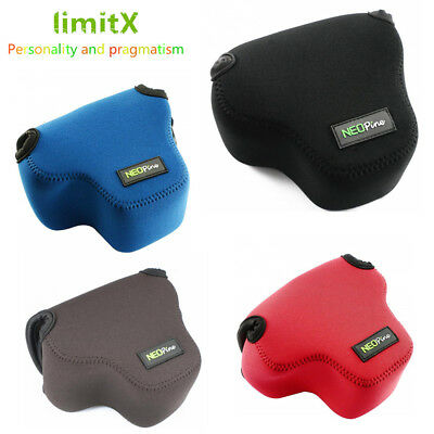 lightweight Neoprene Soft Waterproof Camera Case Cover Bag for Canon EOS M50