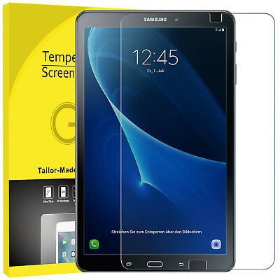 """2 PACK Tempered Glass HD Screen Protector For Samsung Galaxy Tab A6 10.1"""" Inch"""