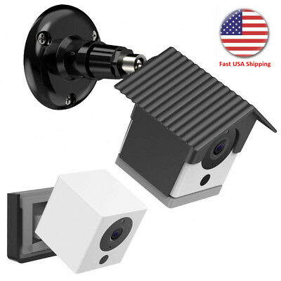 Wall Mount Bracket Weather Proof 360° Outdoor Cover Case For Security Camera USA