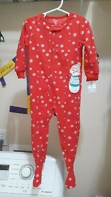 103acb75e LOT OF 2 Carter s Baby Girl Footed Pajamas Sleep Suits 12 Months ...